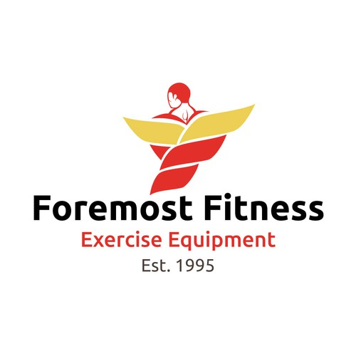 Foremost Fitness logo design consept