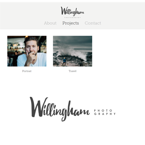 Wordmark logo for Willingham co.