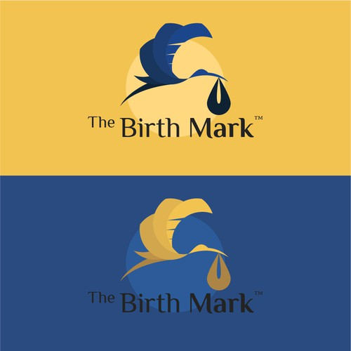 Logo concept for pregnancy Health and Wellness