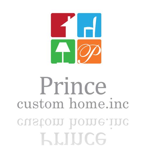 Help Prince Custom Homes, Inc. with a new Logo Design