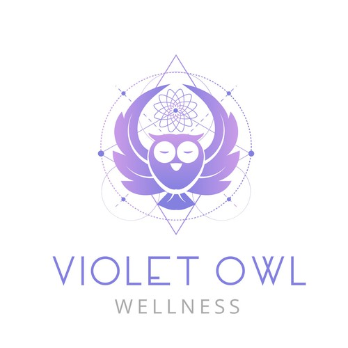 Logo for a wellness center