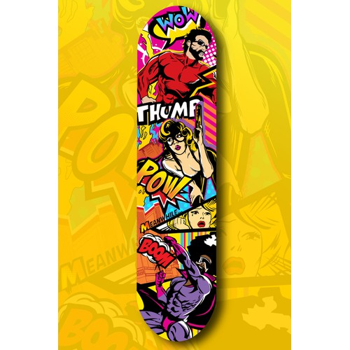 We are searching for new skateboard designs