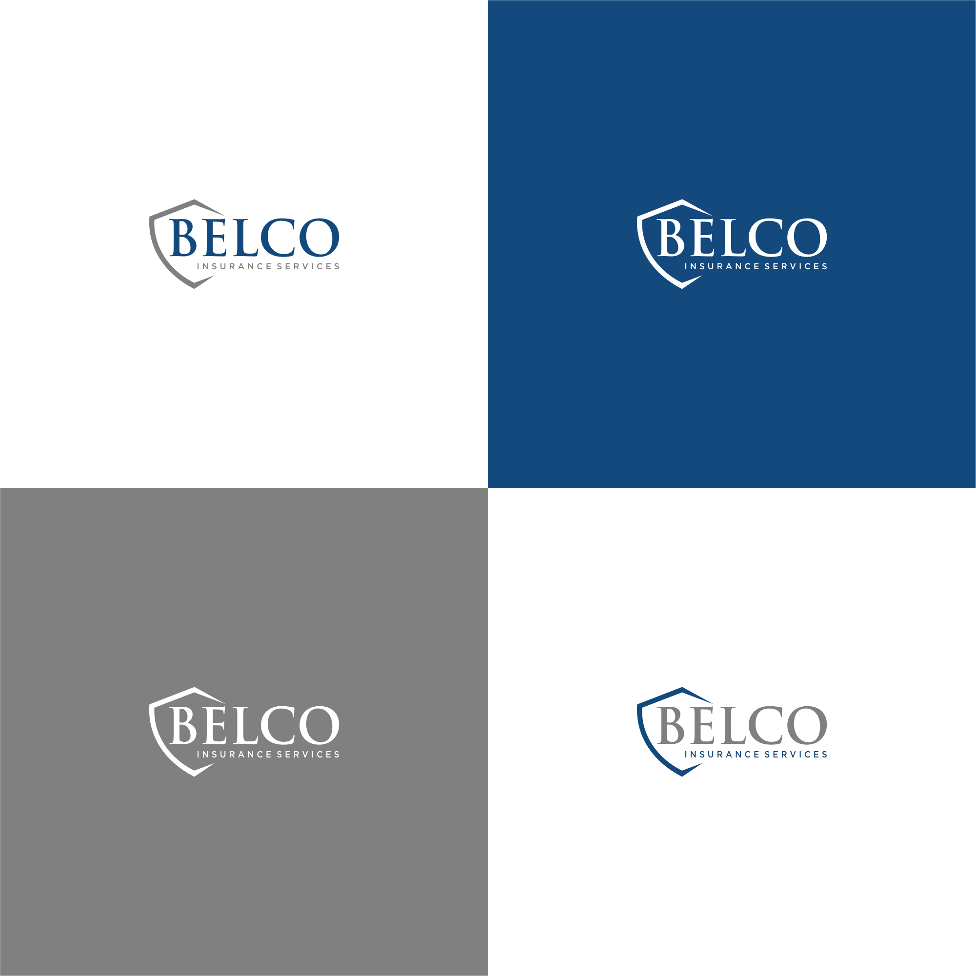 Powerful but clean design of a logo for Insurance Company