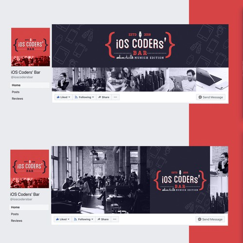 Facebook Cover & Profile for a developer page
