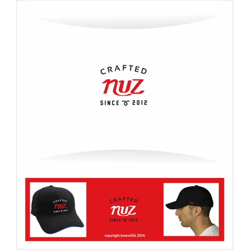 Logo for a new brand with cap