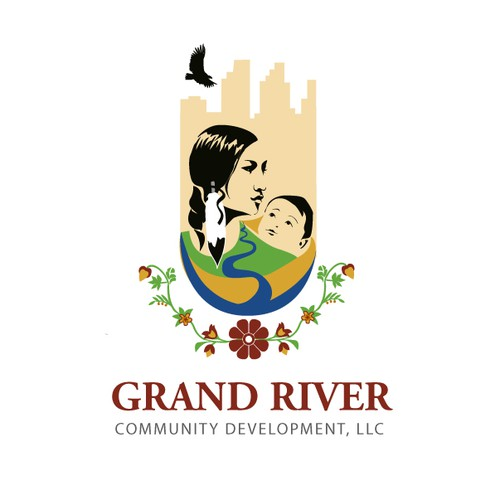 Logo for American Indian-owned community development organization