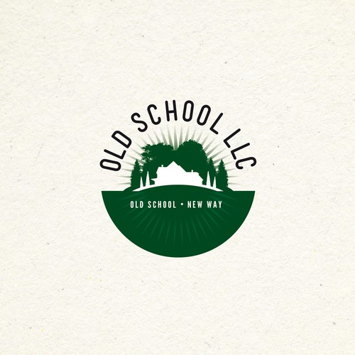 OLD SCHOOL LLC - Logo and hosted website