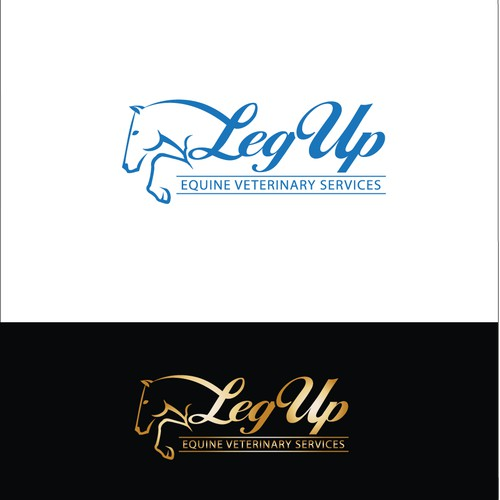 SOLD - Logo for equine veterinary practice