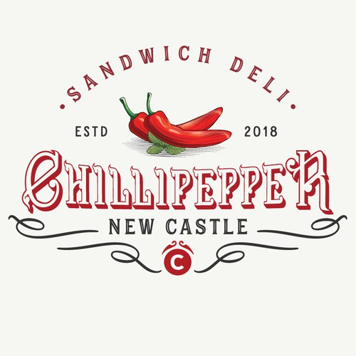 Logo concept for sandwich shop