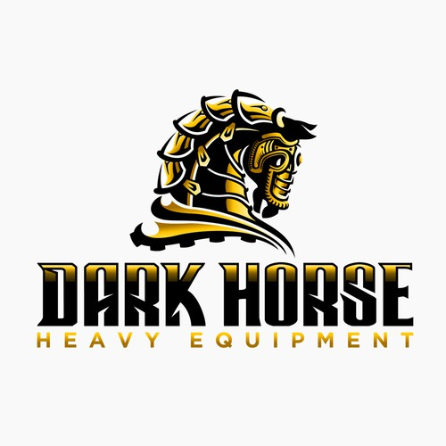 Dark Horse Heavy Equipment logo
