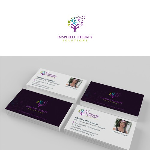 Bold logo concept for INSPIRED THERAPY