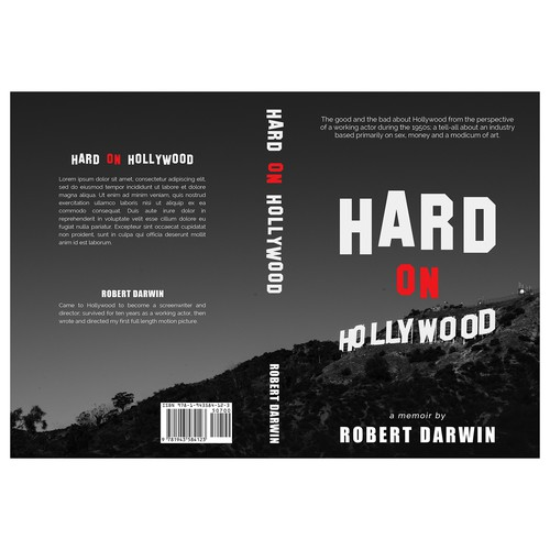 "Book cover for ""Hard on Hollywood"""