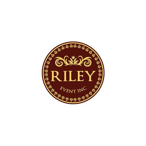 Riley Events Logo Design