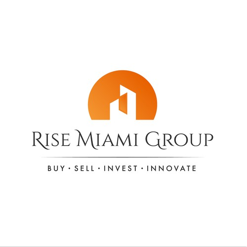 An Abstract Logo For a High-End Real Estate Company