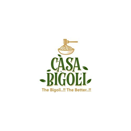 Logo for italian restaurant