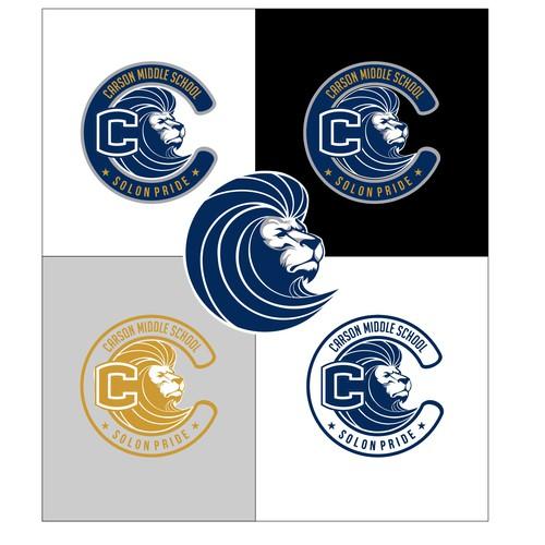 carson middle school logos