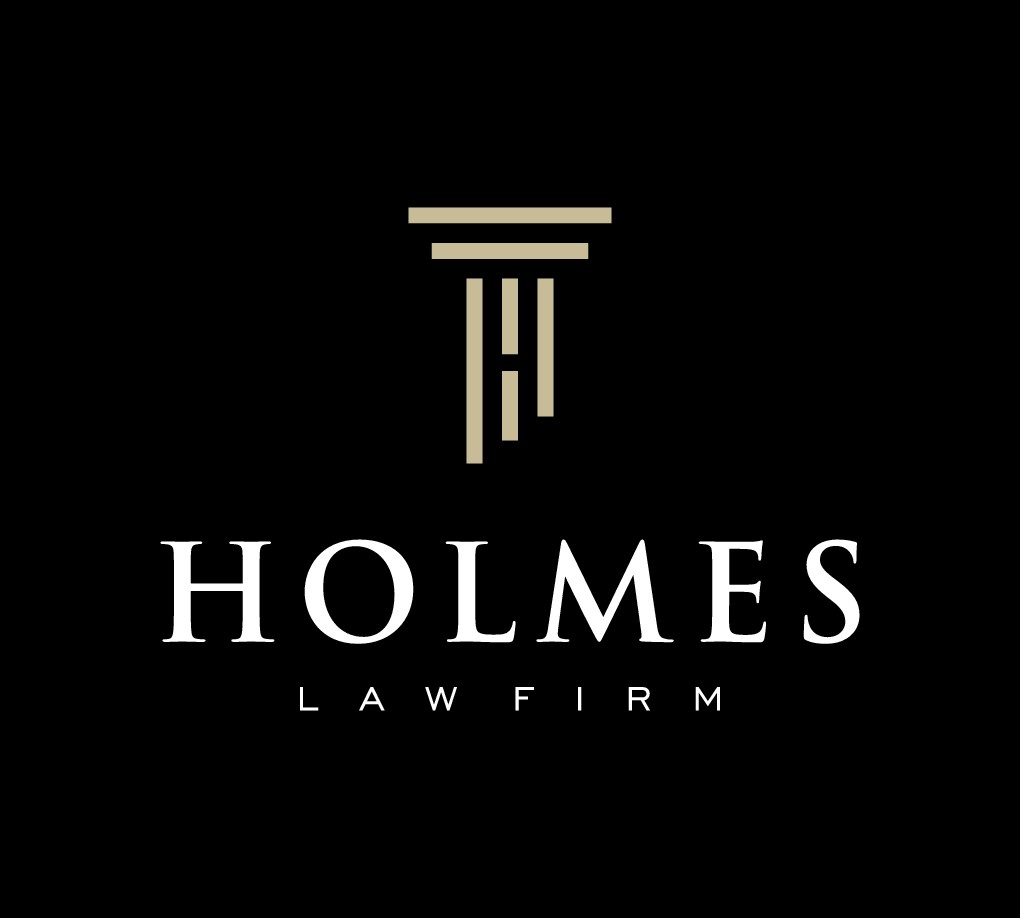 Younger Lawyer needs Law firm logo for Holmes Law Firm in Albuquerque, New Mexico, USA