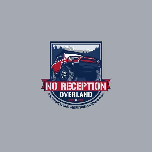 no reception overland logo