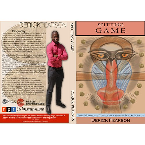 Create the next book or magazine cover for Derick Pearson