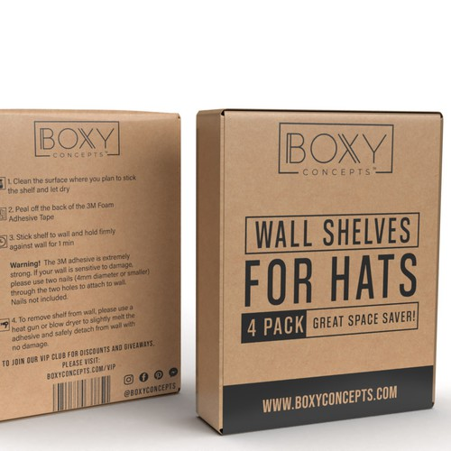 wall shelves for hats box