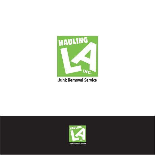 Junk hauling logo