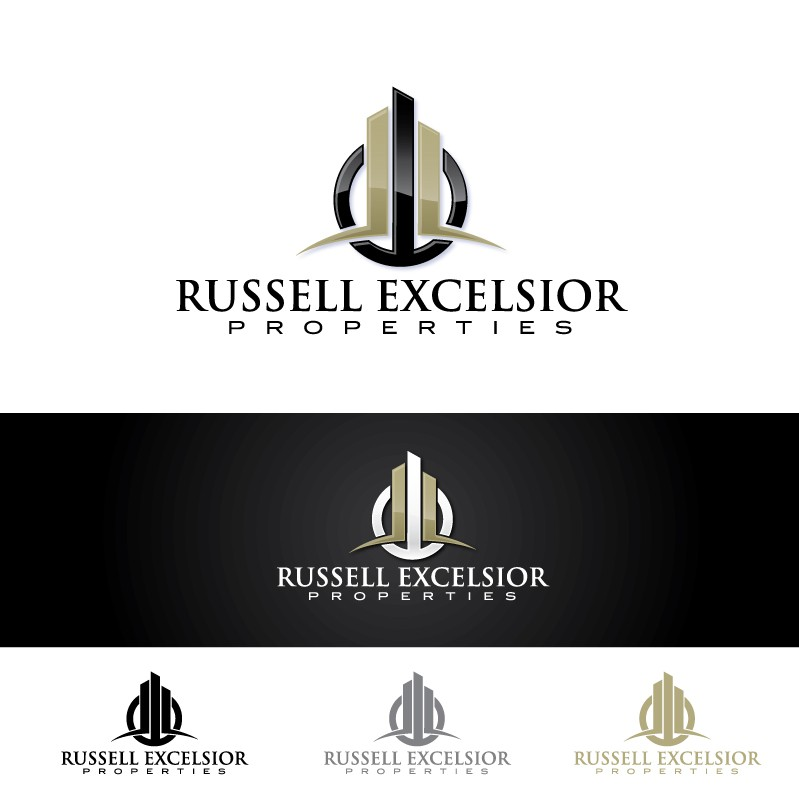 Create the next logo for Russell Excelsior Properties