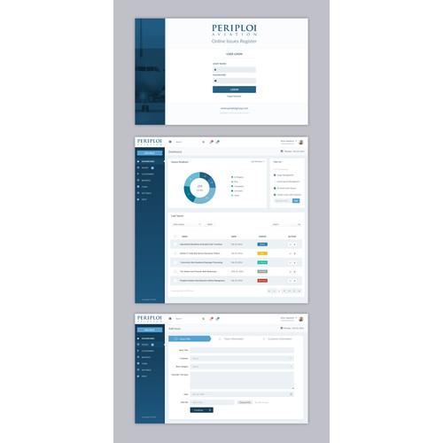 Online Issues Register Web App