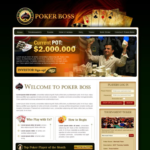 Poker Boss