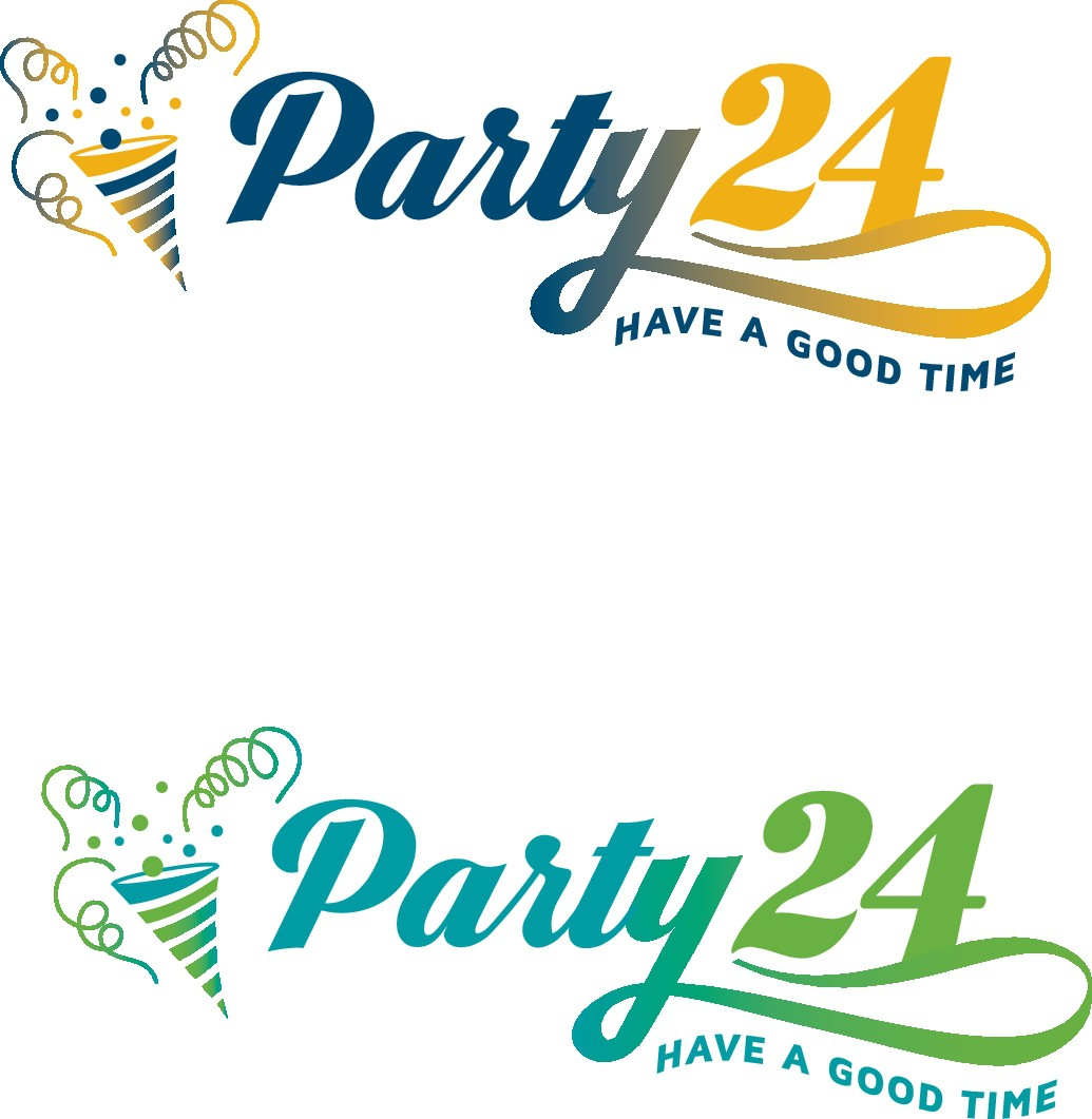 "Edles Logo für B2B/B2C-Webshop ""Party24"""