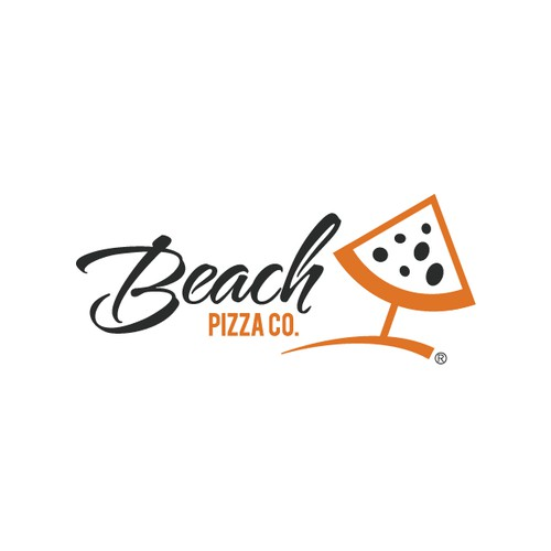 Create the next logo for Beach Pizza Co.