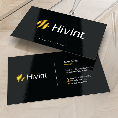 Create a eyecatching business card for an Infosec firm with a difference!