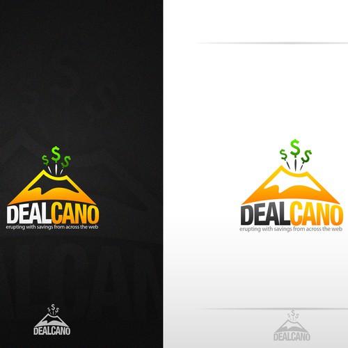 Logo needed for Dealcano -- Volcanoes! Money! Savings!
