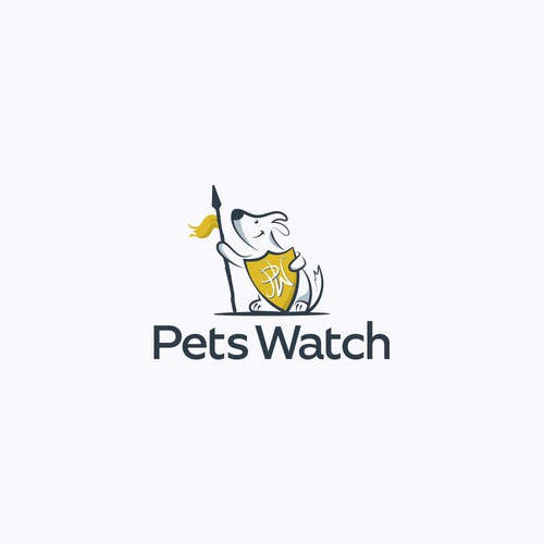 Logo for dog store.