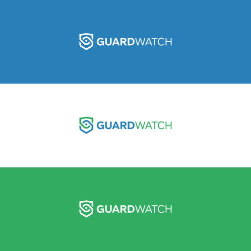 Simple, bold design for security guard management we and mobile app