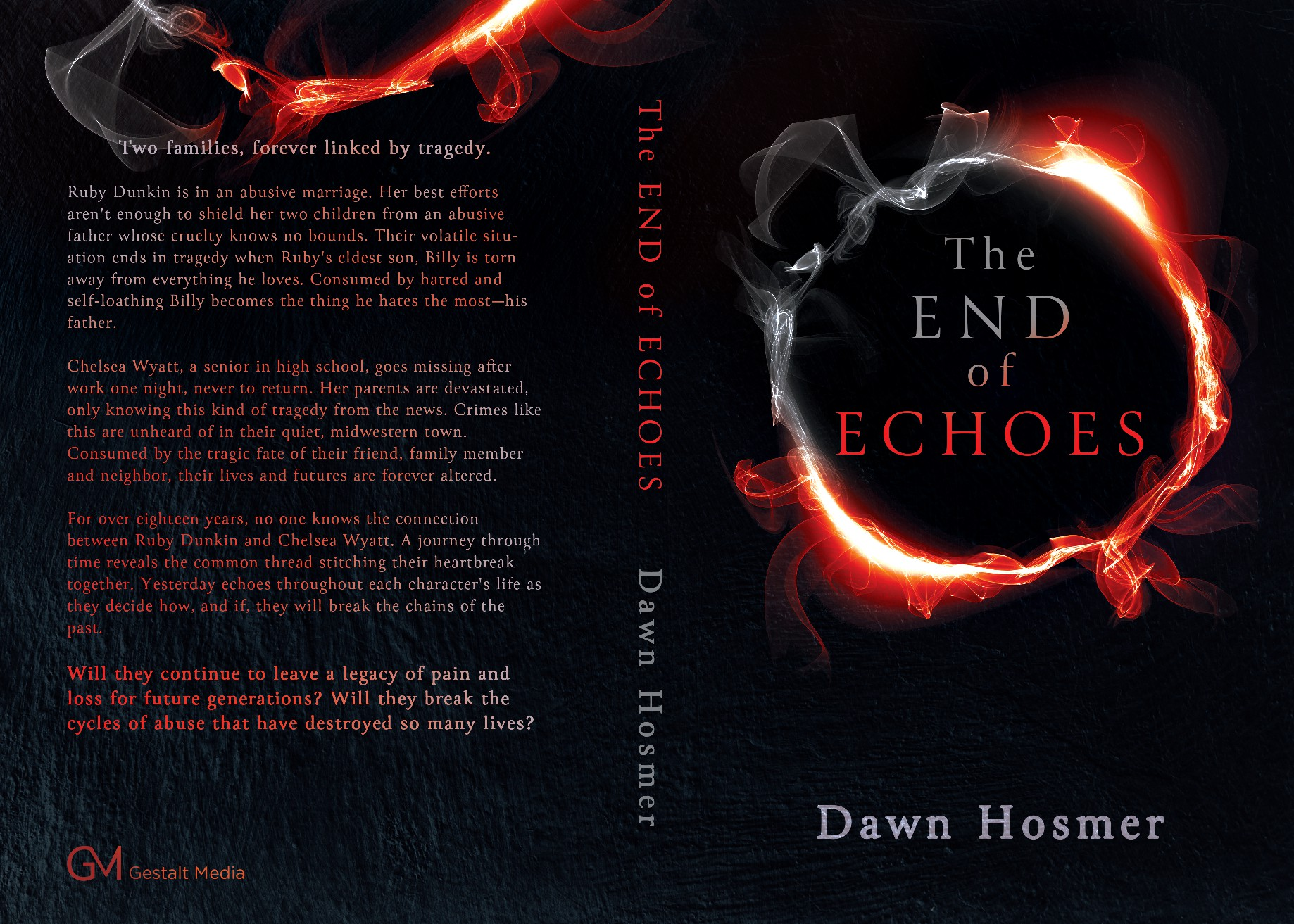 The End of Echoes - Book Cover
