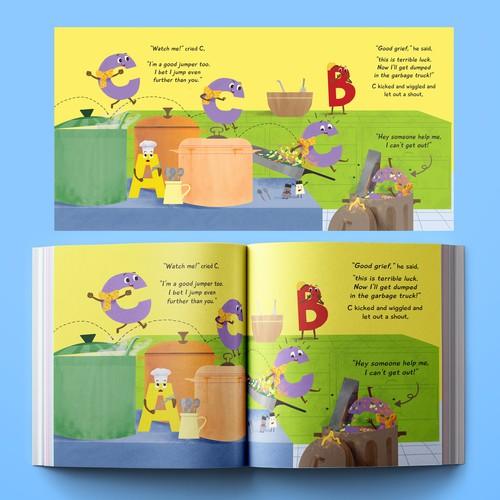 Children's book For Pamela Jane
