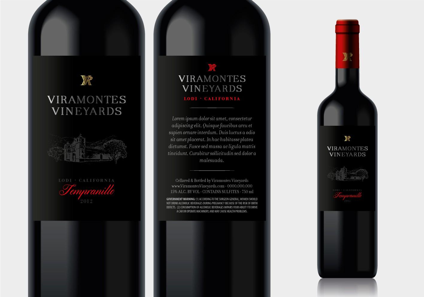 Create Simple, Eye Catching Wine label!
