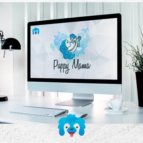 Puppy Mama logo concept
