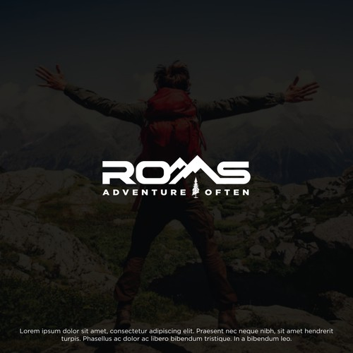 Bold text logo for ROAS Adventure Often