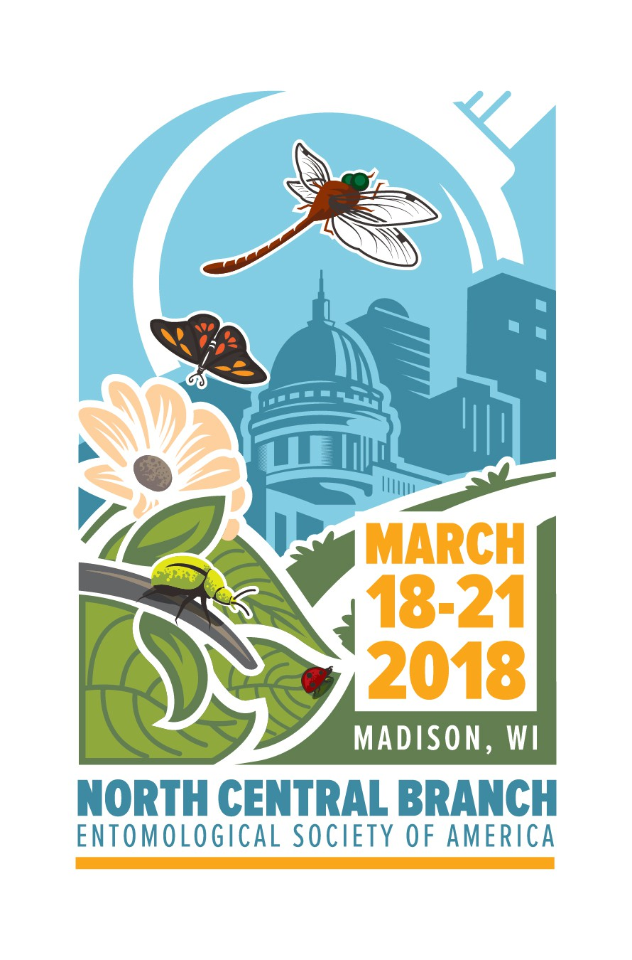 Society of insect science professionals seeks a catchy illustration for their annual meeting!