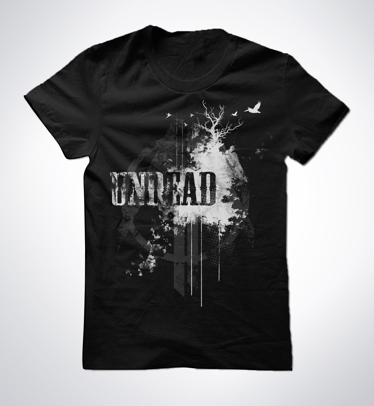 t-shirt design for All The Above Clothing