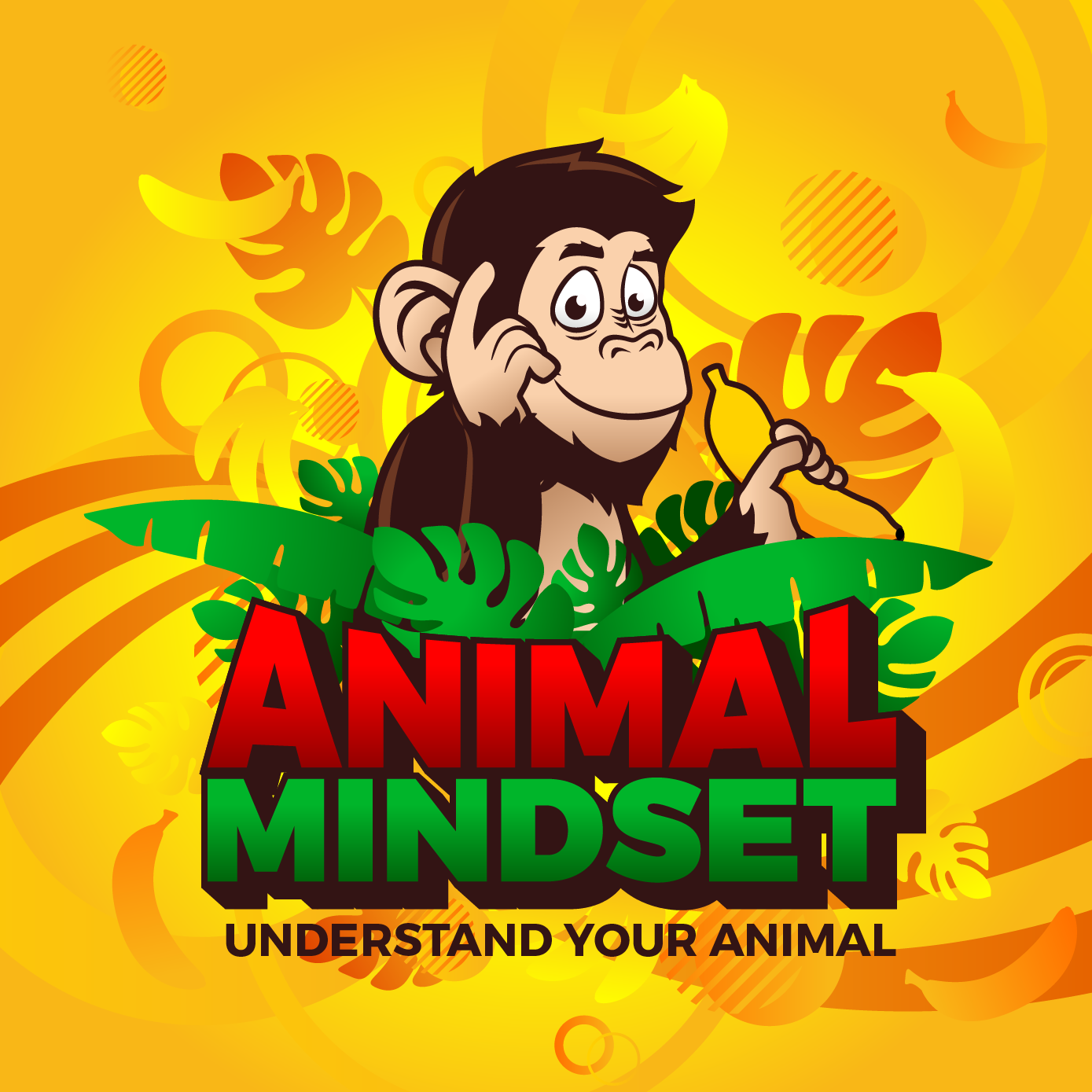 Logo for a FUN and GROOVY animal education brand