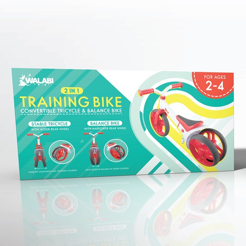 Training Bike Packaging