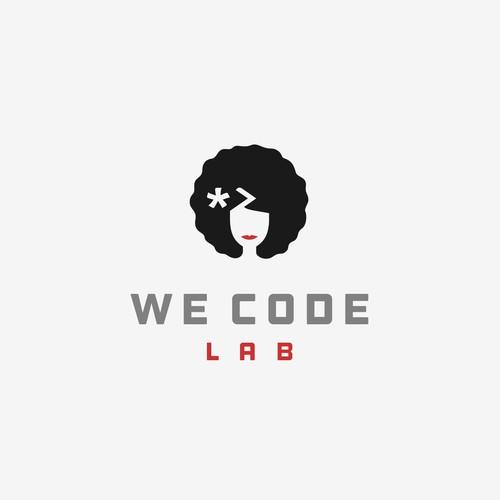 Logo concept for girls coding school in Rwanda.