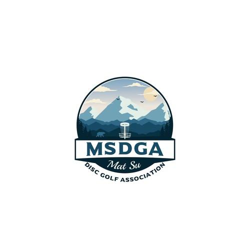 logo for disc golf Association