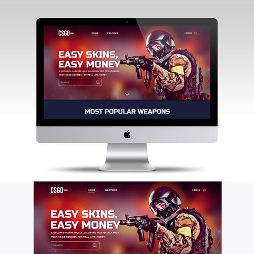 Web Design for CSGO.com