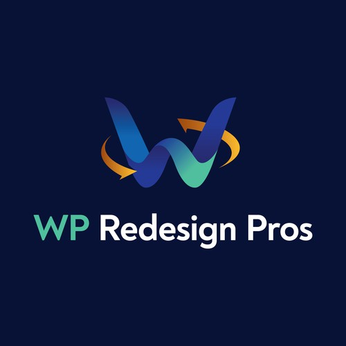 Logo for a company redesigning websites