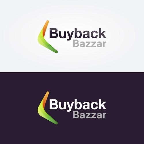 Buyback Bazaar logo design