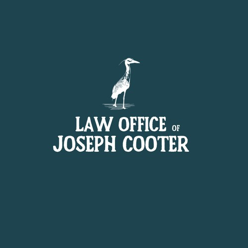 Retro logo for a Law office