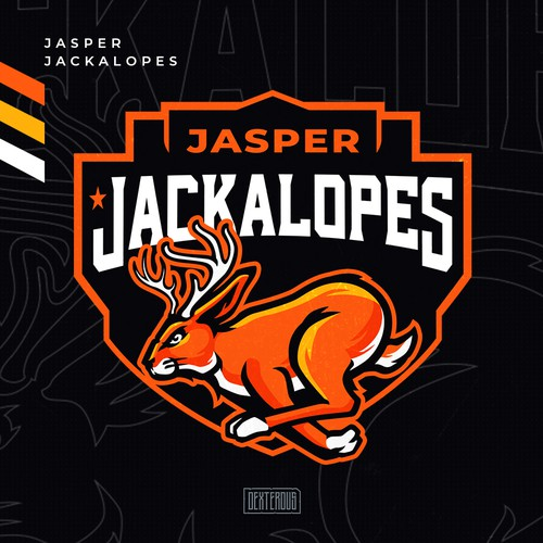 Jasper Jackalopes Team Logo